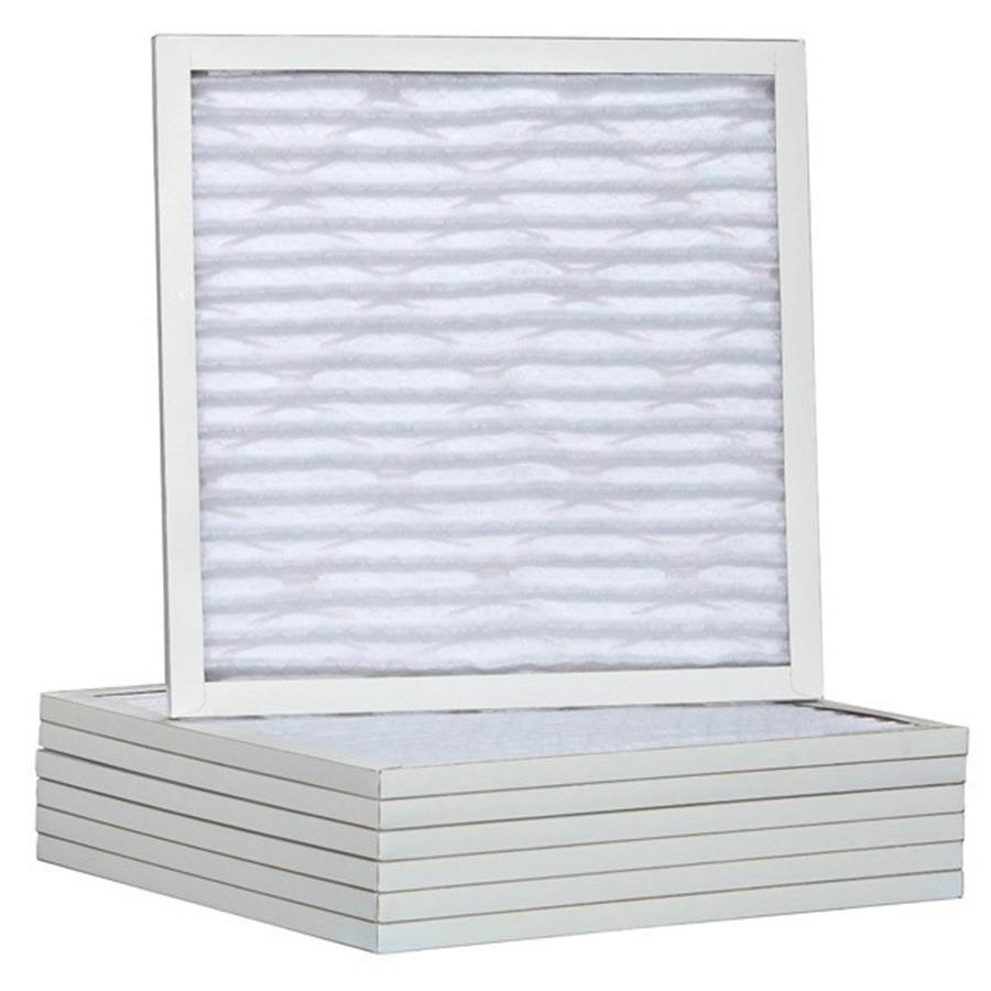 Filtrete 6-Pack Pleated Ready-to-Use Industrial HVAC Filters (Common: 22-in x 18-in x 1-in; Actual: 17.5-in x 19.5-in x .75-in)