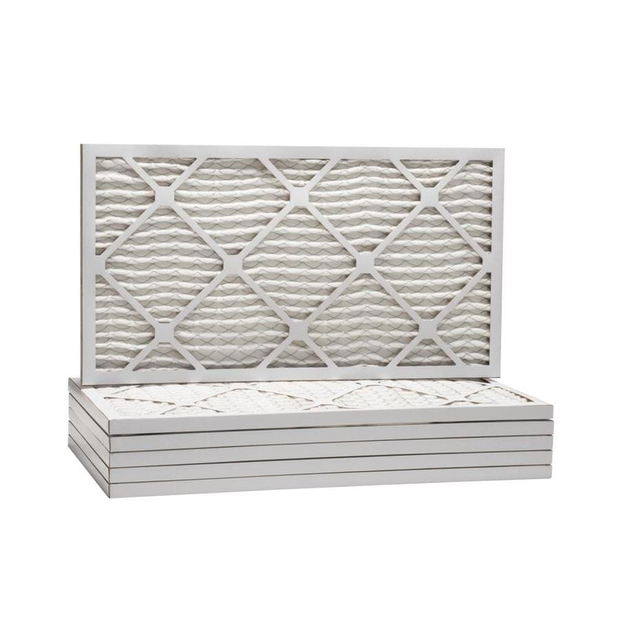 Filtrete 6-Pack Pleated Ready-to-Use Industrial HVAC Filters (Common: 10-in x 20-in x 1-in; Actual: 9.5-in x 19.5-in x .75-in)