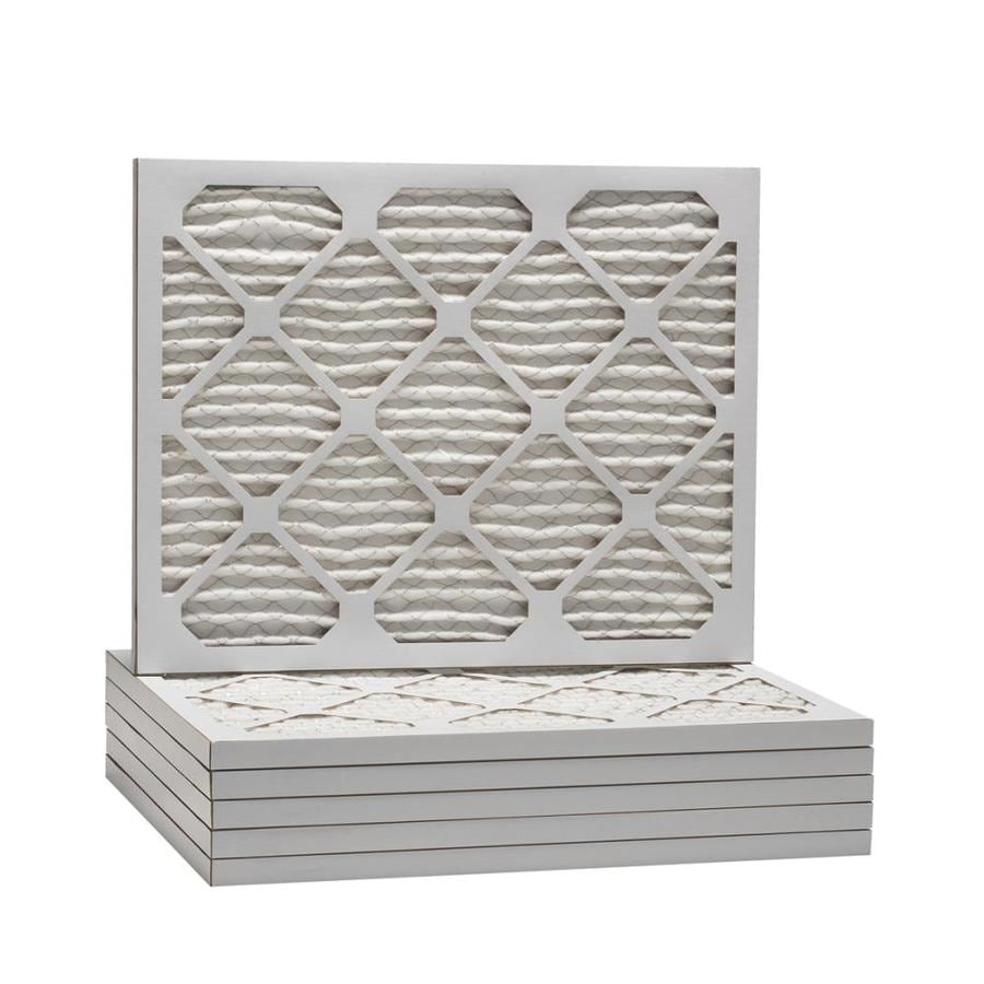 Filtrete 6-Pack Pleated Ready-to-Use Industrial HVAC Filters (Common: 18-in x 20-in x 1-in; Actual: 17.5-in x 19.5-in x .75-in)