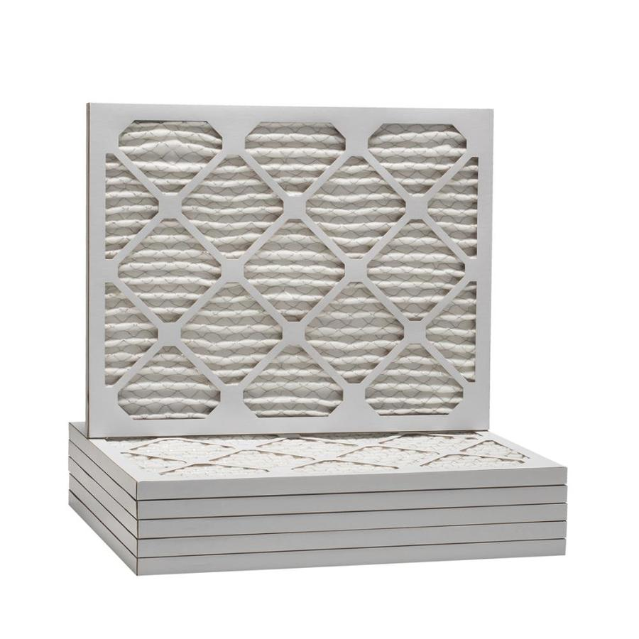 Filtrete 6-Pack Pleated Ready-to-Use Industrial HVAC Filters (Common: 24-in x 28-in x 1-in; Actual: 23.875-in x 27.875-in x .75-in)