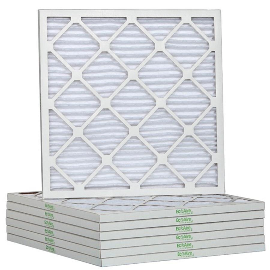 Filtrete 6-Pack Pleated Ready-to-Use Industrial HVAC Filters (Common: 10-in x 18-in x 1-in; Actual: 9.75-in x 17.875-in x .75-in)