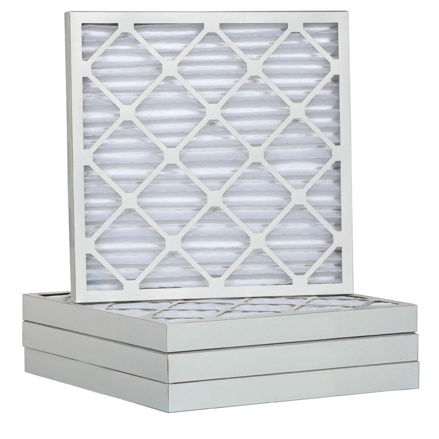 Filtrete 12-Pack Pleated Ready-to-Use Industrial HVAC Filters (Common: 25-in x 25-in x 2-in; Actual: 24.5-in x 24.5-in x 1.75-in)
