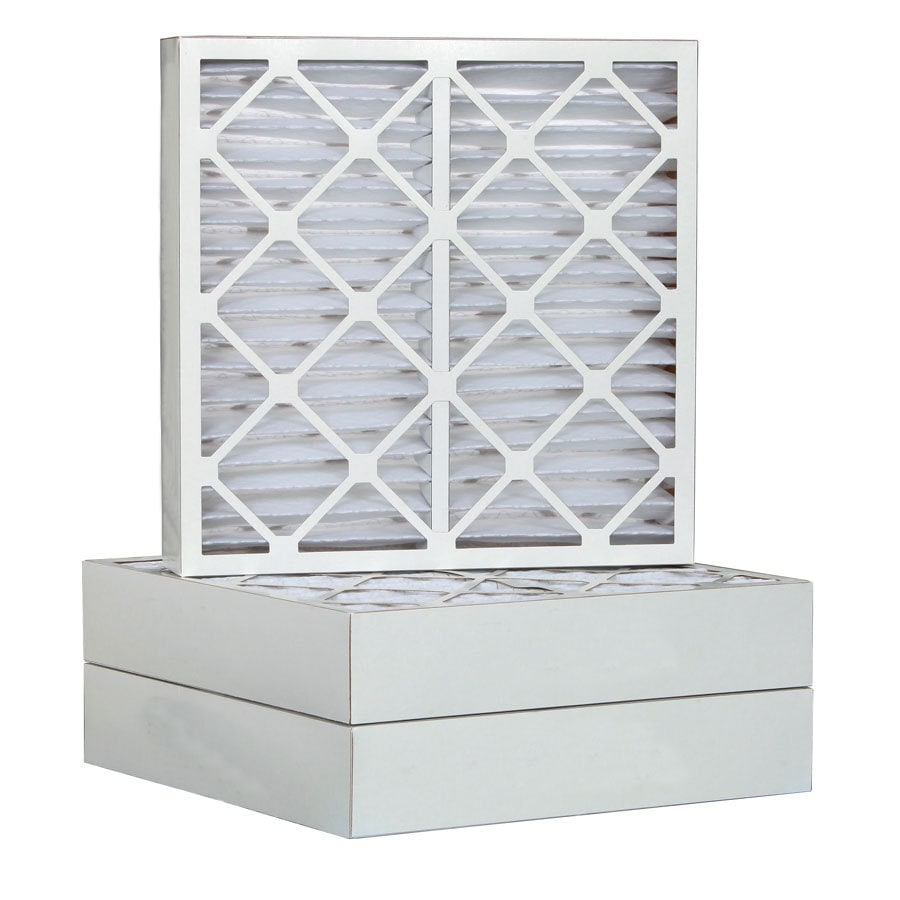 Filtrete 6-Pack Pleated Ready-to-Use Industrial HVAC Filters (Common: 12-in x 24-in x 4-in; Actual: 11.375-in x 23.375-in x 3.75-in)