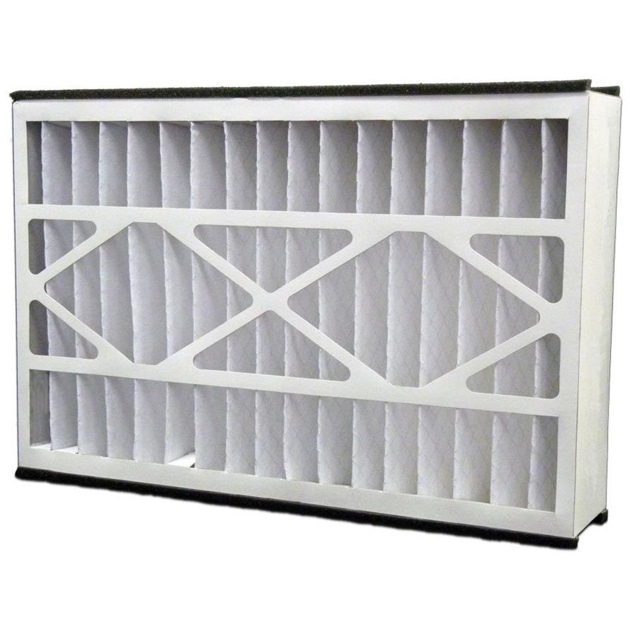 Filtrete (Common: 16-in x 25-in x 5-in; Actual: 15.625-in x 24.125-in x 4.875-in) 2-Pack Hvac Basic Pleated Air Filters