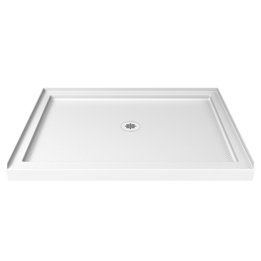 Slimline White Acrylic Shower Base (Common: 36-in W x 48-in L; Actual: 36-in W x 48-in L) Product Photo