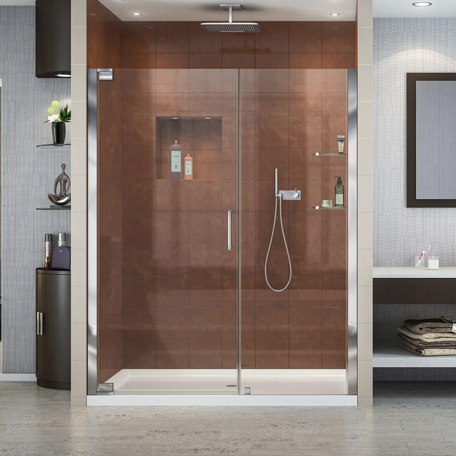 DreamLine Elegance 56.25-in to 58.25-in Frameless Pivot Shower Door