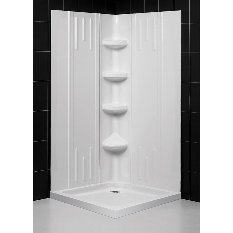 DreamLine Qwall-2 Shower Wall Surround Corner Wall Panel (Common: 40-in; Actual: 72.875-in x 40.5-in)