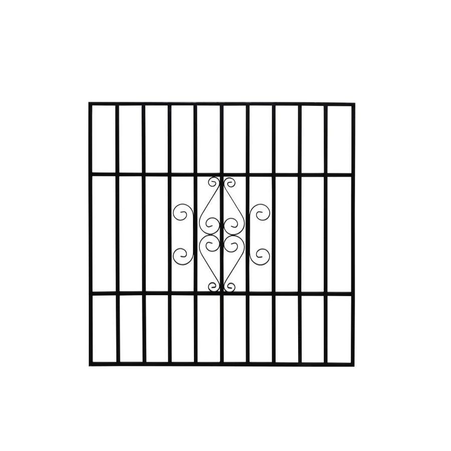 Gatehouse 36-in Black Magnum Window Security Bar