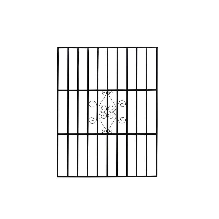 Gatehouse 48-in Black Magnum Window Security Bar