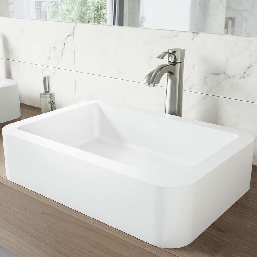 shop vigo vessel bathroom sets white vessel