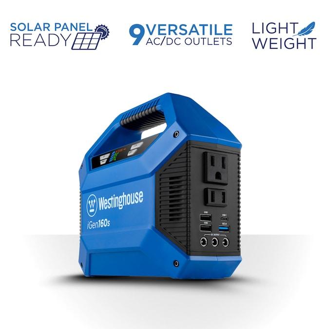 Westinghouse iGen 155-Watt Hour Portable Solar Generator