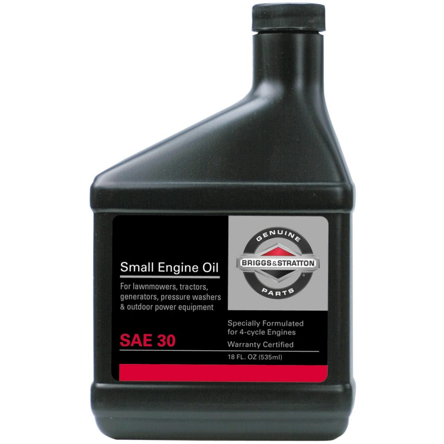 Briggs & Stratton 18-oz 4-Cycle 30W Conventional Engine Oil