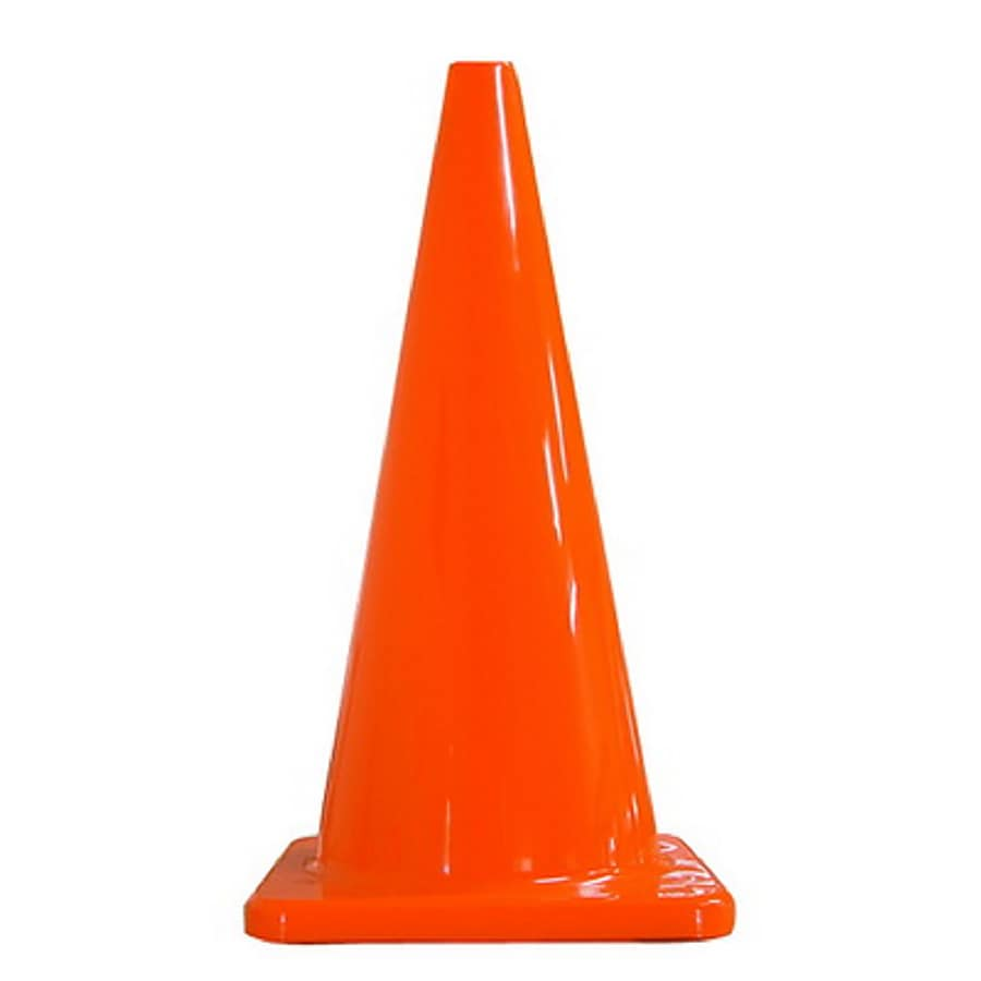 Corsan 28-in Plumbers Safety Cone
