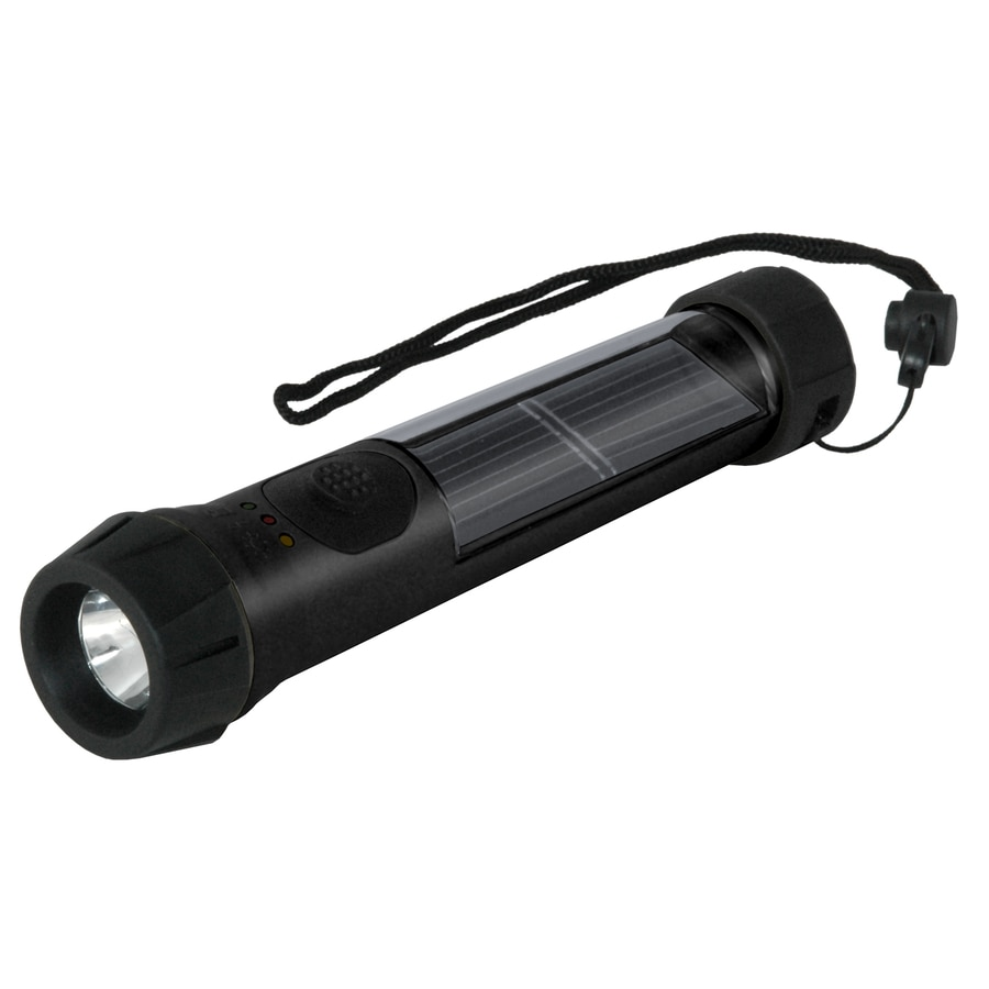 Hybrid Light LED Handheld Rechargeable Battery Flashlight