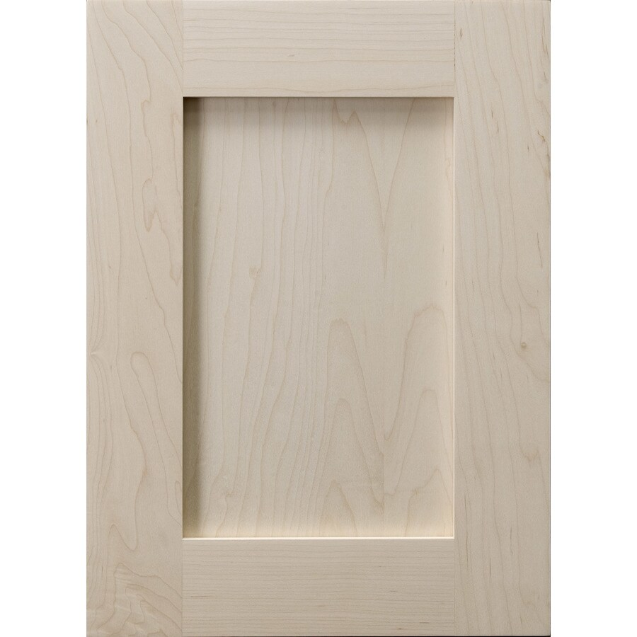 Surfaces Carlisle 15-in x 11-in Wood Maple Shaker Cabinet Sample