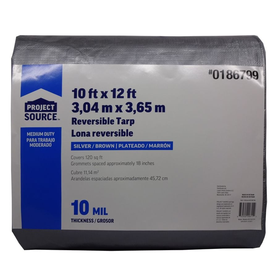 Blue Hawk 12-ft x 10-ft Polyethylene Tarp