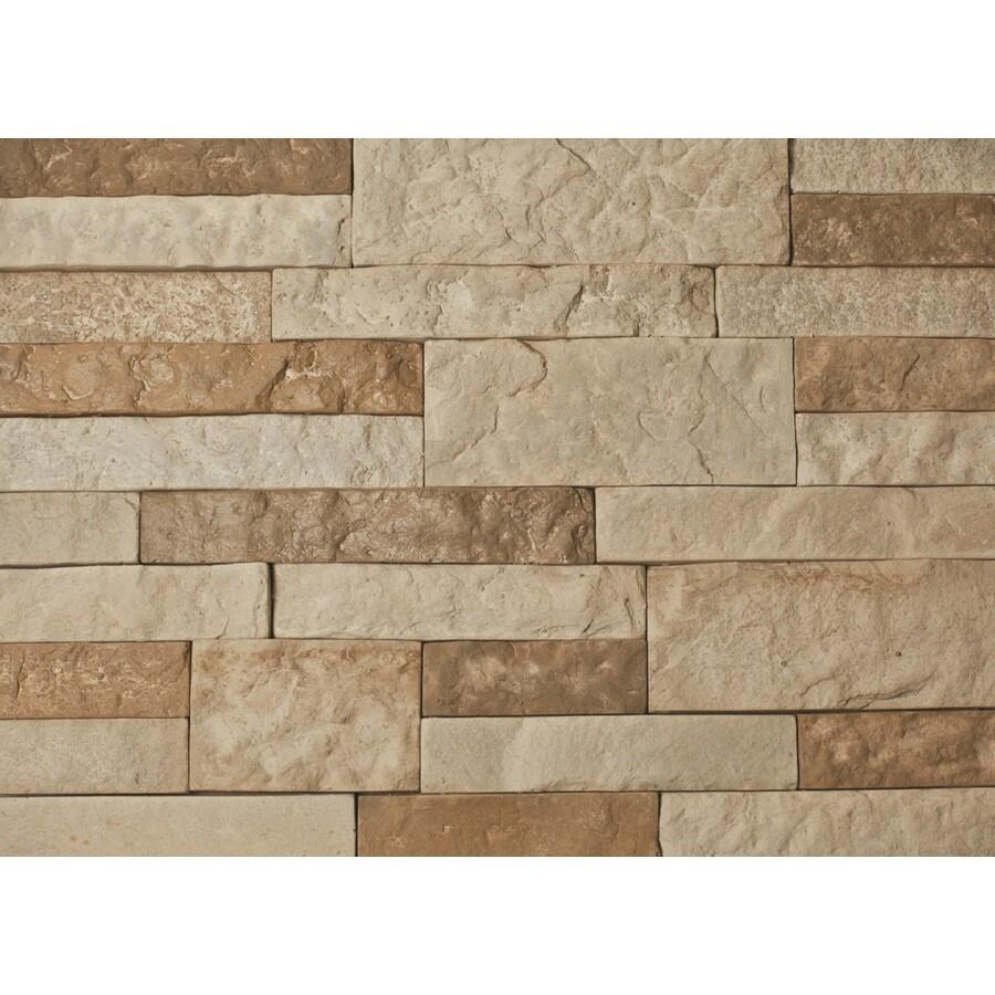 AirStone 8-Sq ft Autumn Mountain Ledge Stone Veneer
