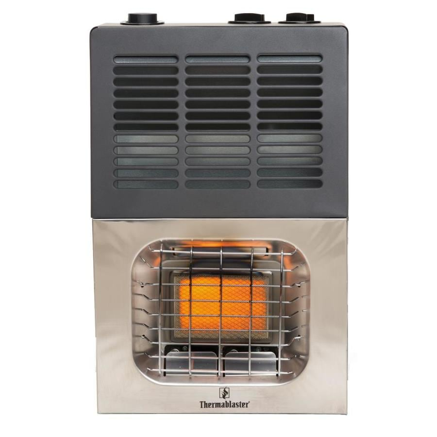 Thermablaster 6,000-BTU Wall-Mount Natural Gas or Liquid Propane Vent-Free Infrared Heater
