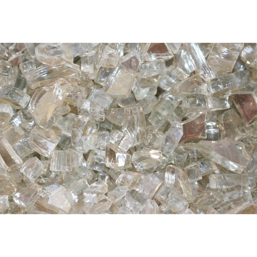 Shop Exotic Glass 10 Lb Crystal Reflective Fire Glass At
