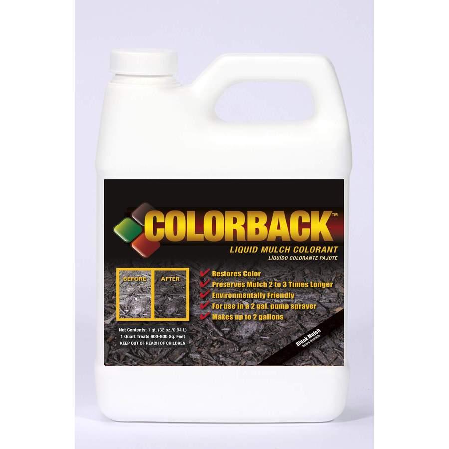 COLORBACK 32-oz Black Mulch Mulch Dye Concentrated