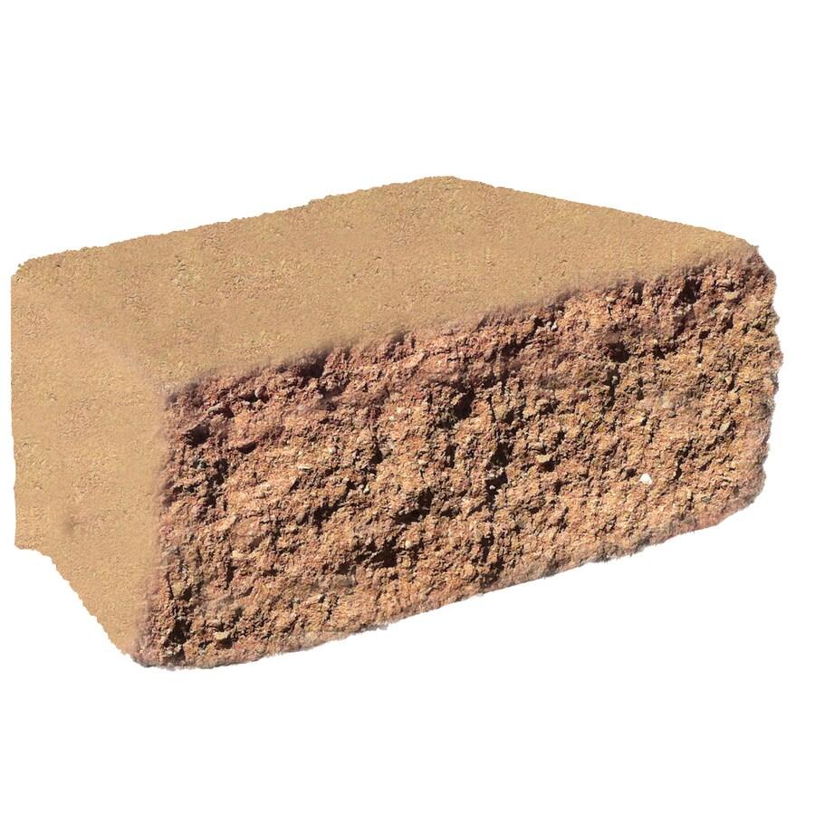 Terra Cotta Block : Shop terra cotta chiseled concrete retaining wall block