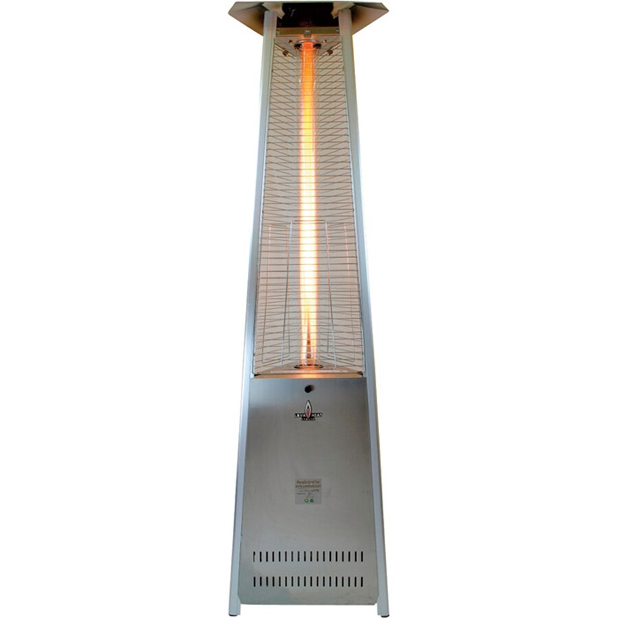 51,000-BTU Stainless Steel Liquid Propane Patio Heater