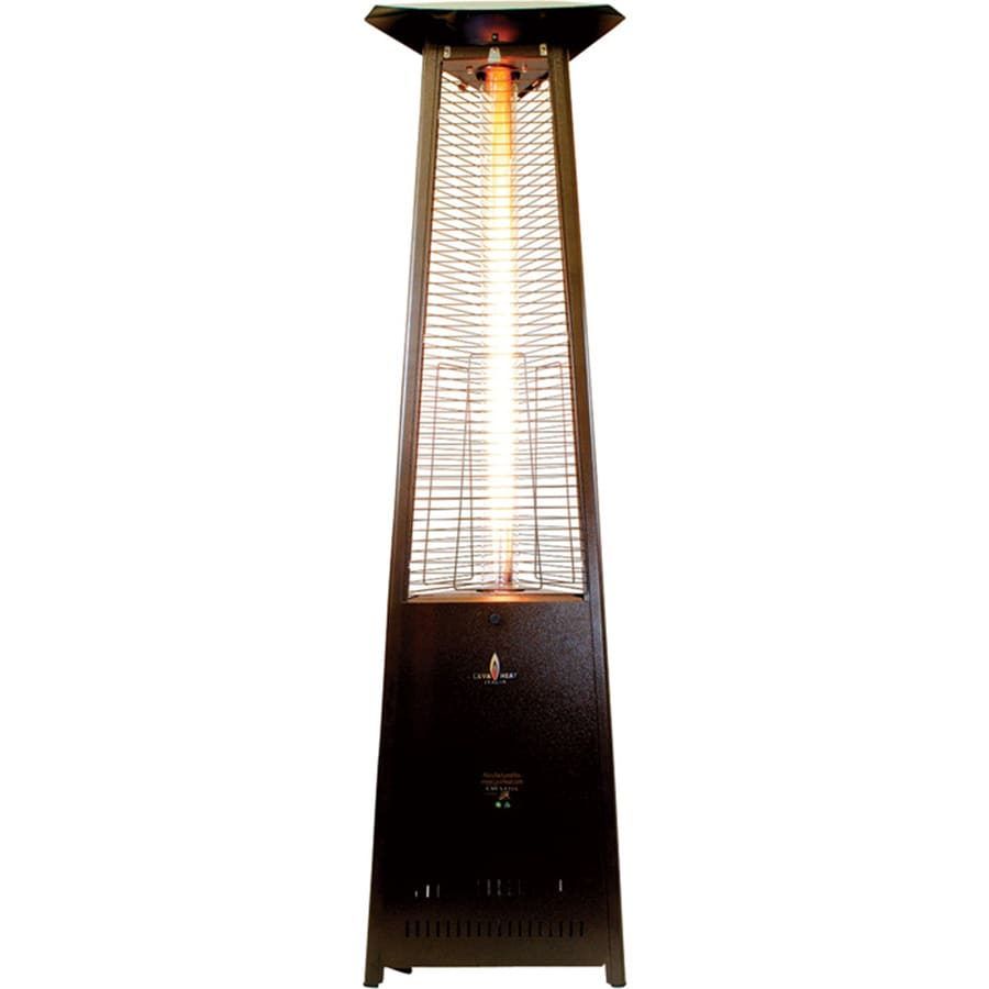 51,000-BTU Heritage Bronze Steel Liquid Propane Patio Heater