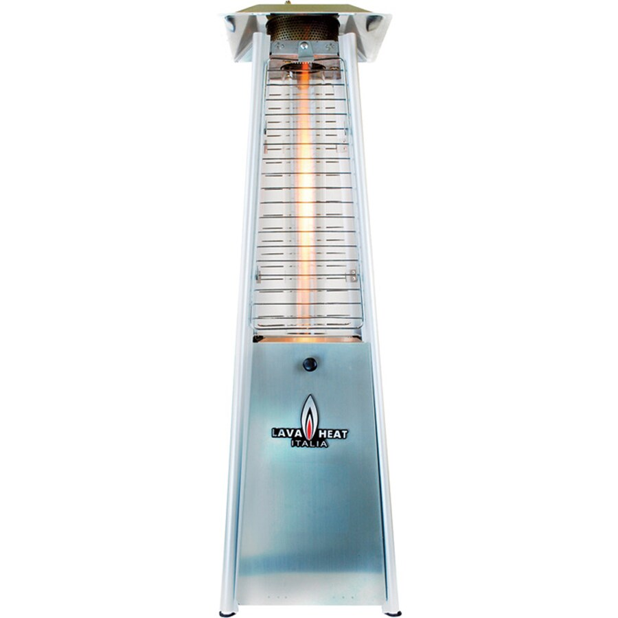 27,000-BTU Stainless Steel Liquid Propane Patio Heater