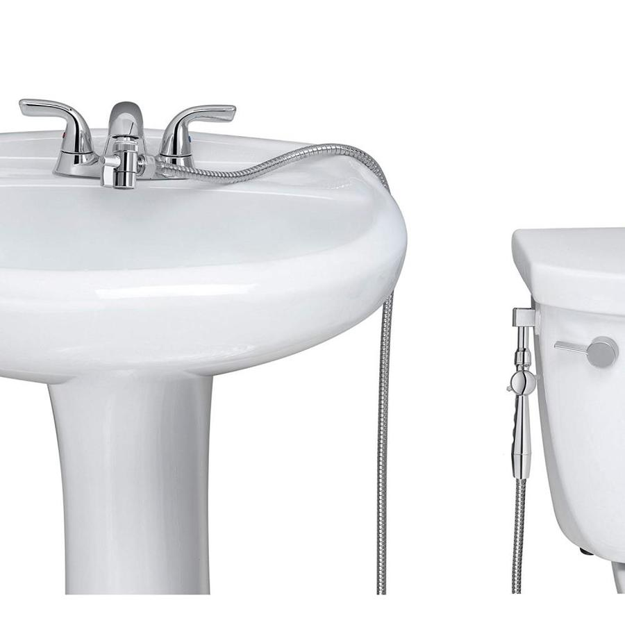 Aquaus Chrome Warm Water Handheld Bidet for Faucet