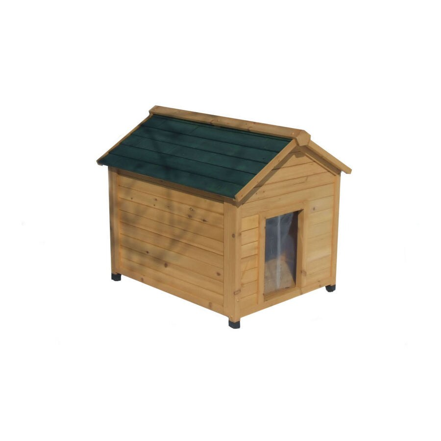 Medium Insulated Cedar Dog House