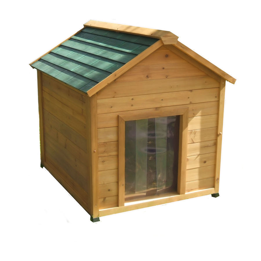 Large Insulated Cedar Dog House