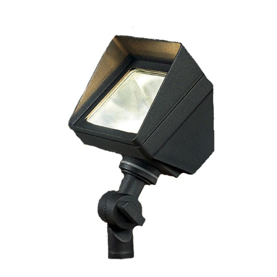 Portfolio Black Low Voltage 20-Watt (20W Equivalent) Halogen Landscape Flood Light