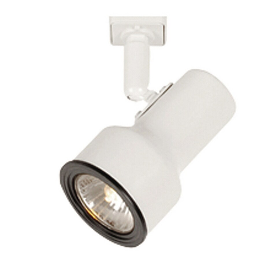 Project Source 1-Light White Step Linear Track Lighting Head