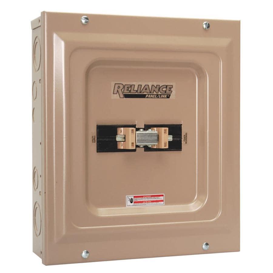 Reliance 100-Amp Utility/Generator Transfer Switch
