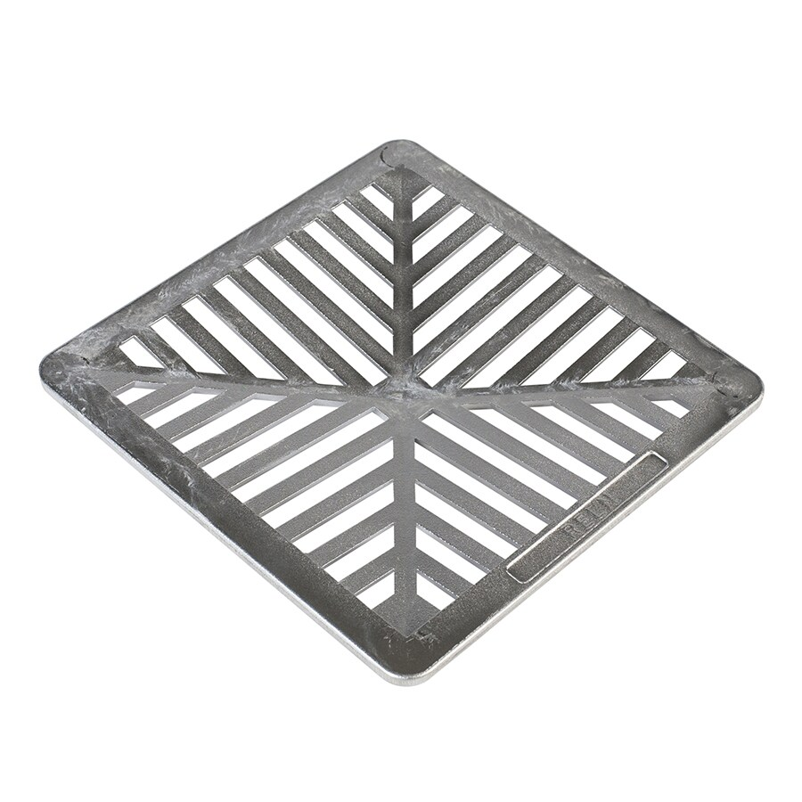 Traditional 9-in Square Grate