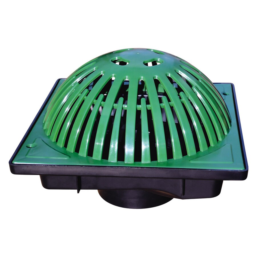 Storm Vortex 9-in Square Atrium Grate