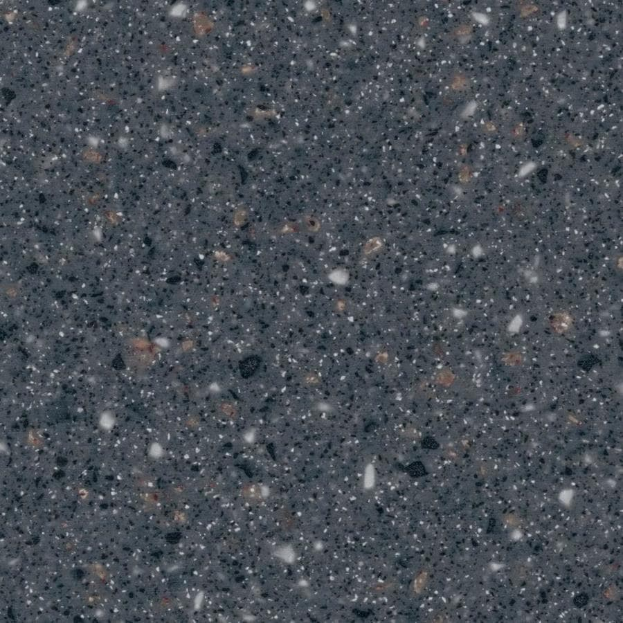 Shop Lg Hi Macs Sugarloaf Solid Surface Kitchen Countertop Sample At Lowes Com: Shop LG HI-MACS Graphite Granite Solid Surface Kitchen