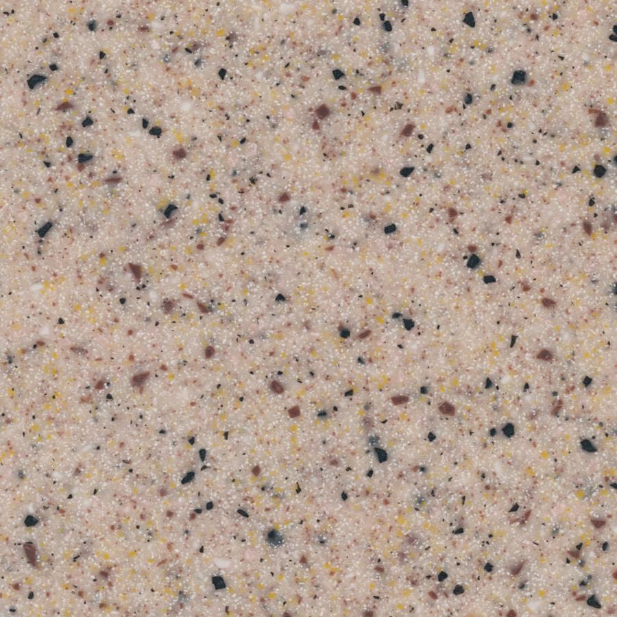 Shop lg hi macs aztec quartz solid surface kitchen countertop sample at - Corian of quartz ...