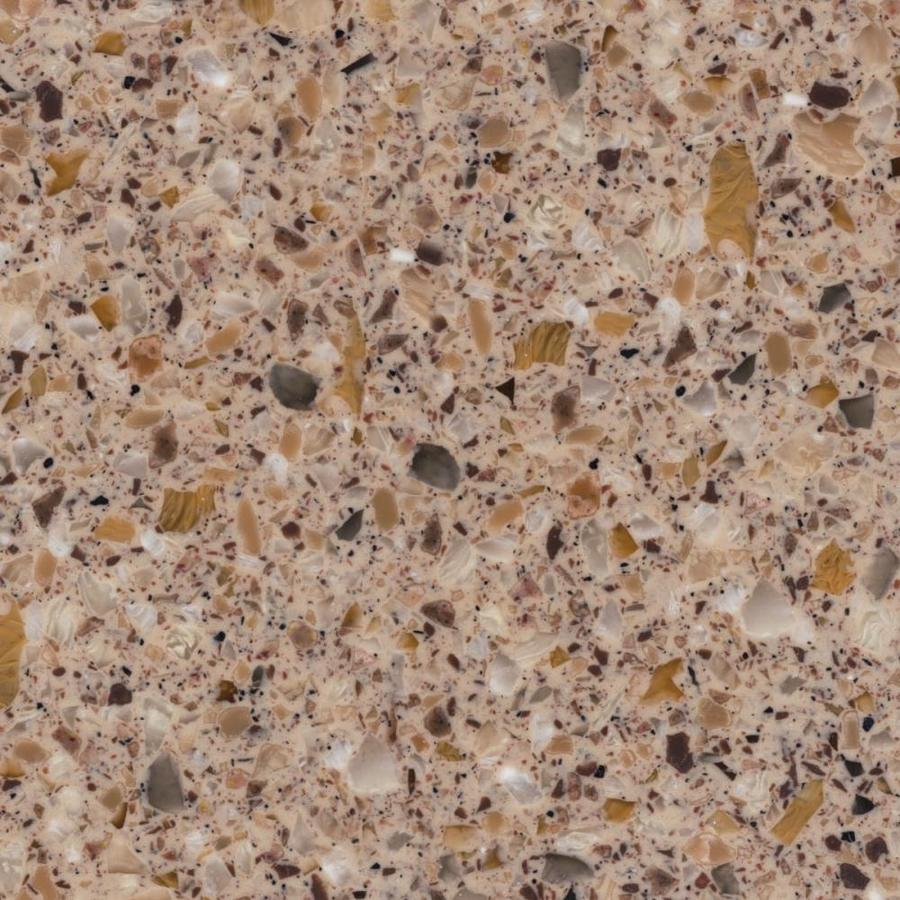 Shop Lg Hi Macs Sugarloaf Solid Surface Kitchen Countertop Sample At Lowes Com: Shop LG HI-MACS Hawksbill Solid Surface Kitchen Countertop