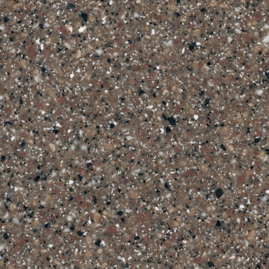 Shop Lg Hi Macs Sugarloaf Solid Surface Kitchen Countertop Sample At Lowes Com: Shop LG HI-MACS Mesa Granite Solid Surface Kitchen