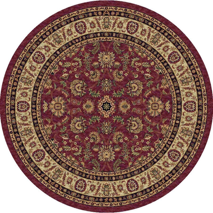 Art Carpet Round Indoor Woven Area Rug (Common: 7 x 7; Actual: 79-in W x 79-in L)