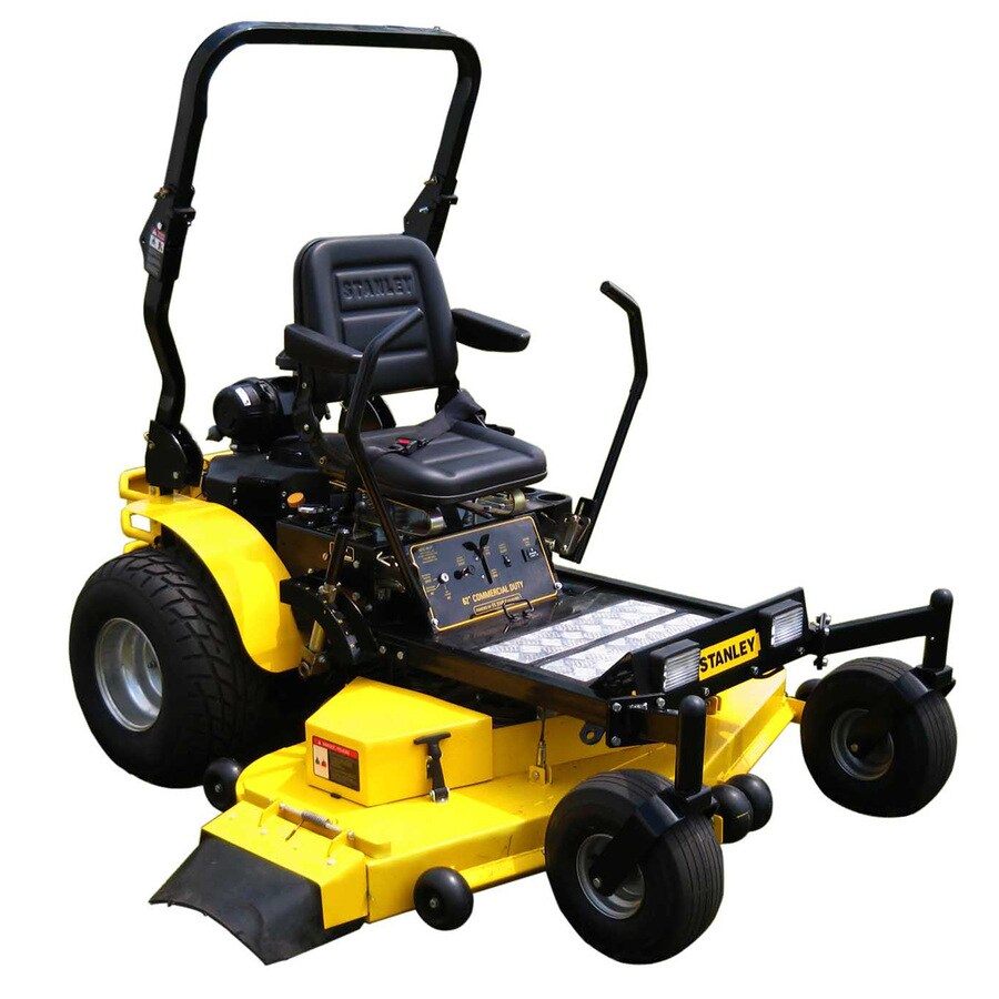 Stanley 31-HP V-Twin Dual Hydrostatic 62-in Zero-Turn Lawn Mower with Kawasaki Engine
