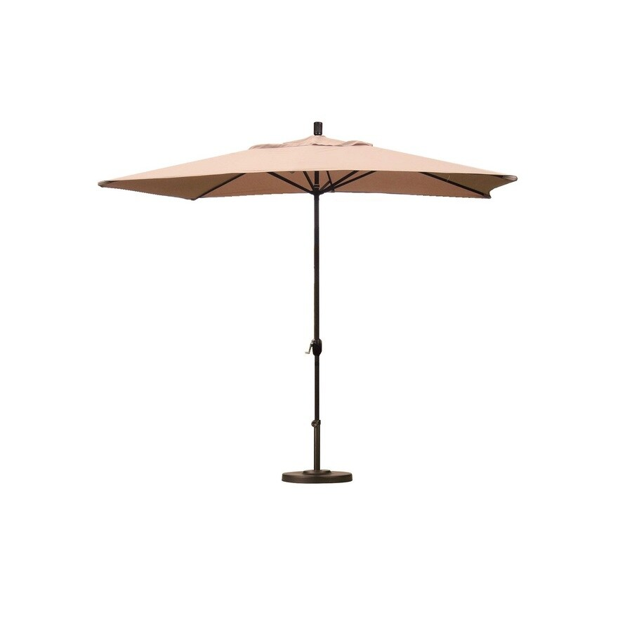 Escada Designs Patio Umbrella (Common: 120-in W x 72-in L; Actual: 120-in W x 72-in L)