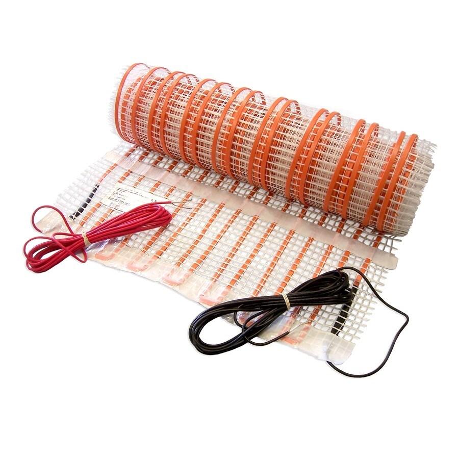 FloorHeat 20-in x 180-in Orange 110-Volt Underfloor Heating Mat