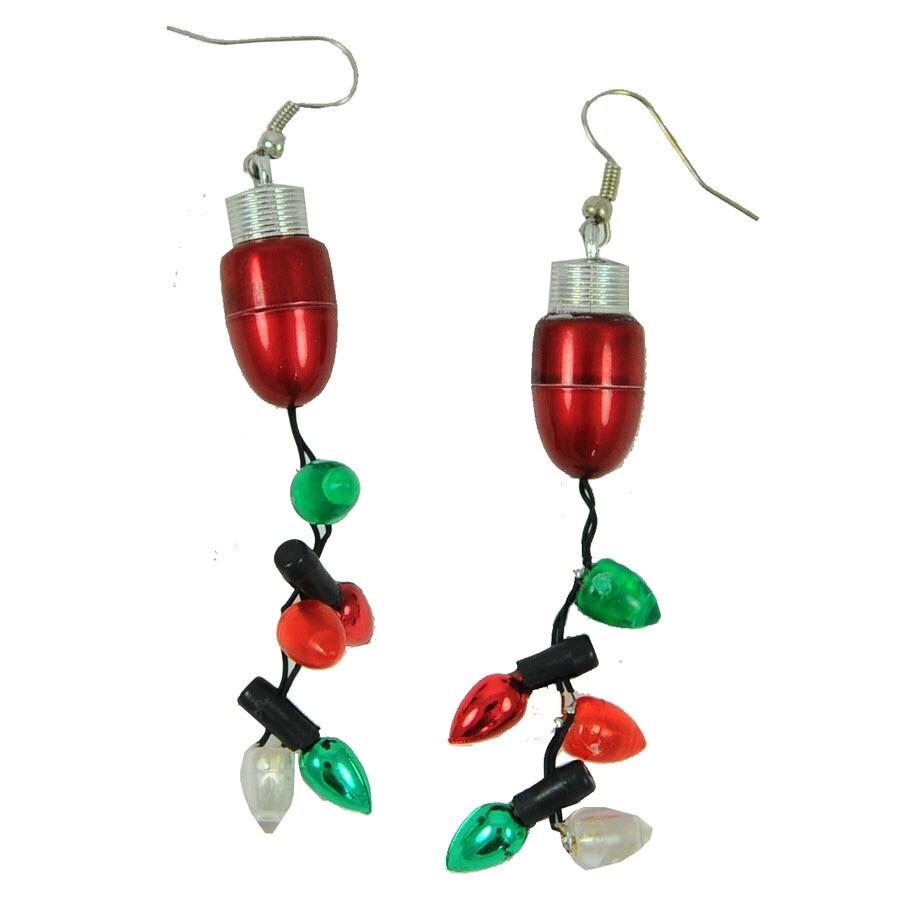 Magic Seasons Lighted Christmas Earrings