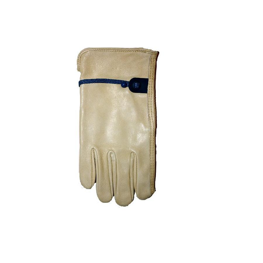 Blue Hawk X-Large Unisex Leather Palm Work Gloves