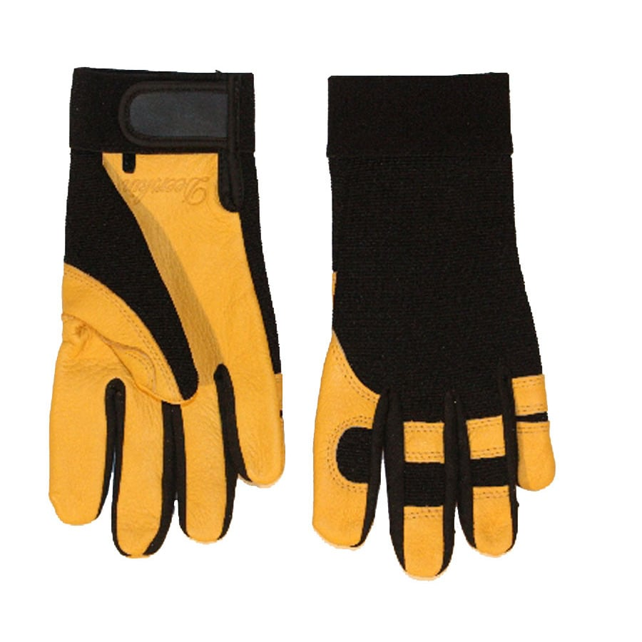 Blue Hawk Medium Unisex Leather Palm High Performance Gloves