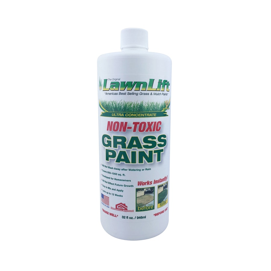 LawnLift Specialty Lawn Green Water-Based Marking Paint (Actual Net Contents: 32-fl oz)