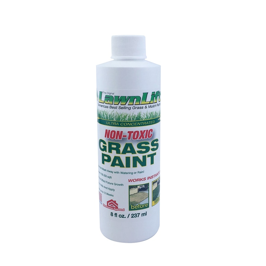 LawnLift Specialty Lawn Green Water-Based Marking Paint (Actual Net Contents: 8-fl oz)
