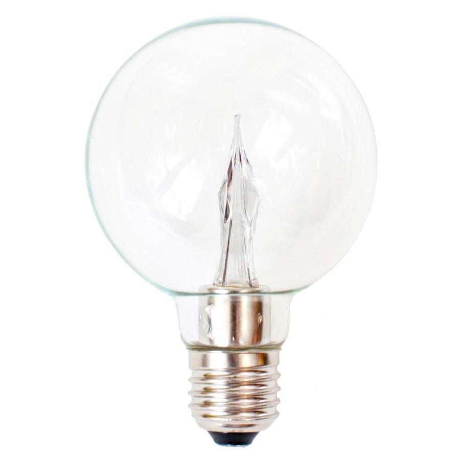 Utilitech Pro 4.5-Watt (25W Equivalent) 2,700K Medium Base (E-26) Warm White Dimmable Decorative LED Light Bulb